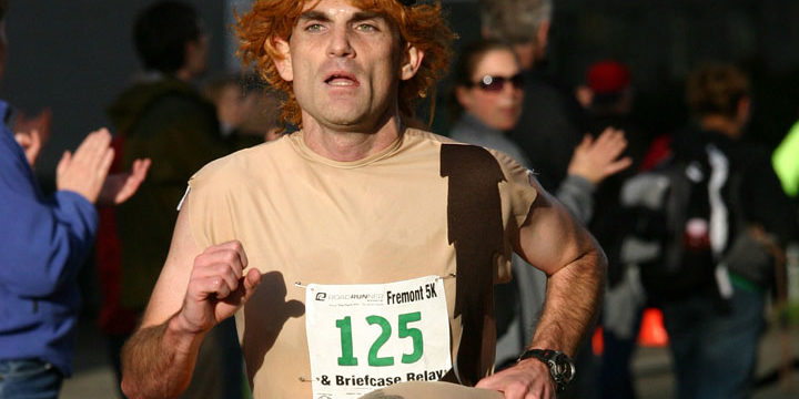 Joe Creighton at the 2008 Fremont 5K