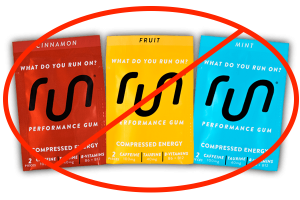 We Are Not Sponsored by Run Gum